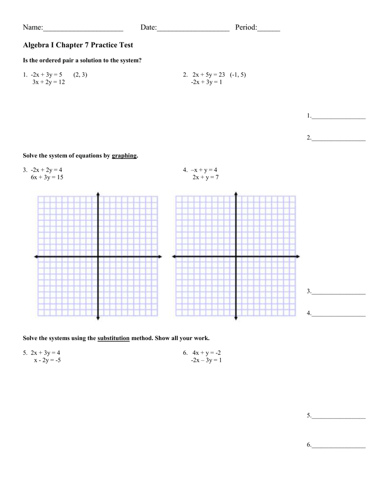 Graphing Systems Of Linear Inequalities Worksheet Lesson 12 2