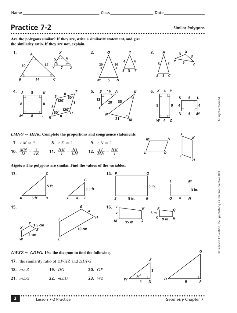 hight resolution of Practice 7-2