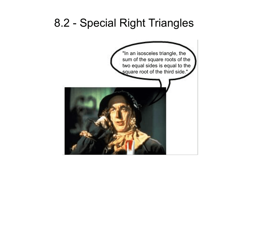Printables Of Special Right Triangles Worksheet Page 26