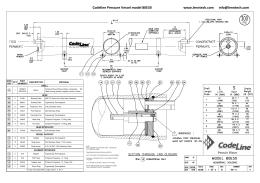 80E60 Codeline Pressure Vessel model