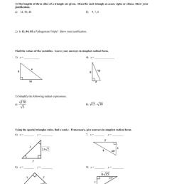 Right triangles test answer key [ 1024 x 791 Pixel ]