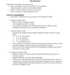 math4010 portfolio assignment kelly macarthur objectives for portfolio the student will [ 791 x 1024 Pixel ]