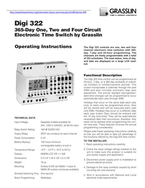 small resolution of digi set timer wiring diagram
