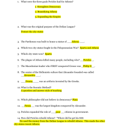 Unit 3: Classical Greece Study Guide/Review 7 Grade Social Studies [ 1651 x 1275 Pixel ]