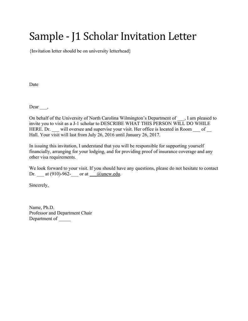 Visiting scholar invitation letter invitationjpg sample j1 scholar invitation letter stopboris Gallery