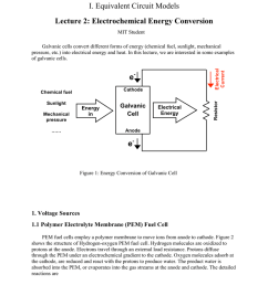 i equivalent circuit models lecture 2 electrochemical energy conversion [ 791 x 1024 Pixel ]