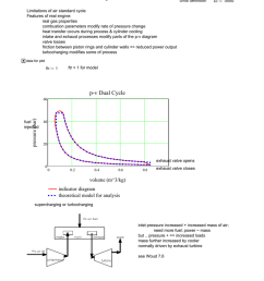 diesel engine continued units definition kj 1000j limitations of air standard cycle features of real engine real gas properties combustion parameters  [ 791 x 1024 Pixel ]