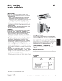 Corrosion Inhibitor Selection Guide