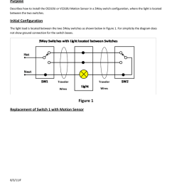 os310u vs310u advanced installation purpose describes how to install the os310u or vs310u motion sensor in a 3way switch configuration where the light is  [ 791 x 1024 Pixel ]