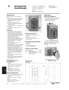 Commercial Ground Fault Receptacles with Functional LED