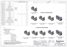 lf series fuse block technical brochure