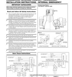 commercial recessed compact fluorescent installation instructions internal emergency important safeguards [ 791 x 1024 Pixel ]