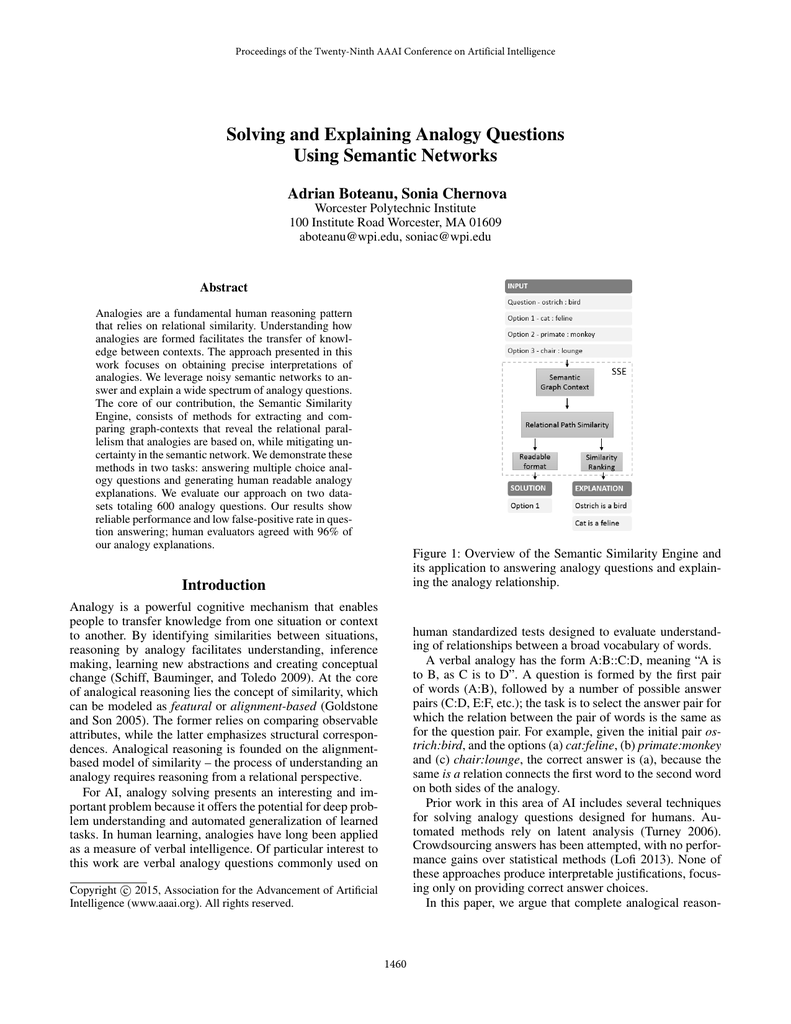 hight resolution of Solving and Explaining Analogy Questions Using Semantic Networks Adrian  Boteanu