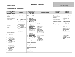 curriculum assessment checklist