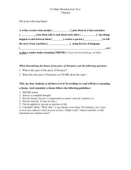 Apparts Worksheet