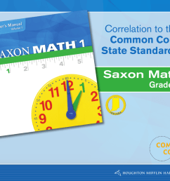 Saxon Math Correlation to the Common Core State Standards [ 791 x 1024 Pixel ]