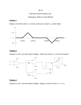 Frequency Response of an Ideal Integrator The