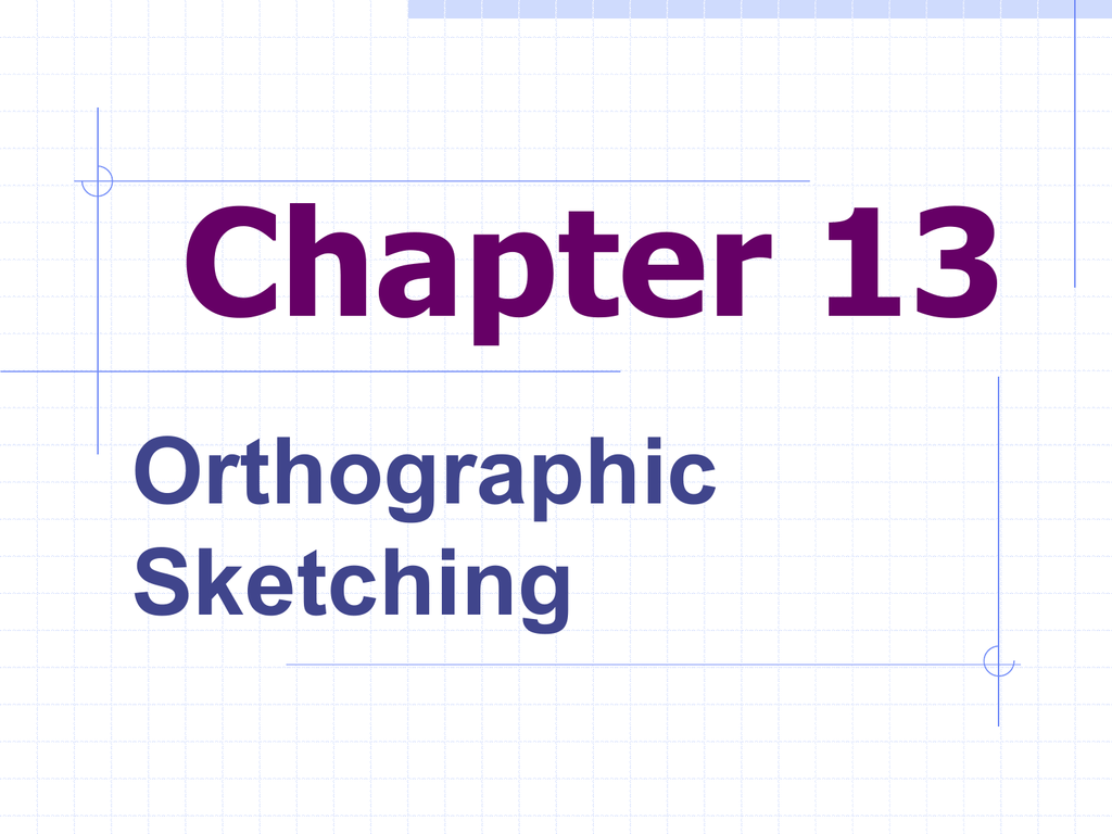 Orthographic Drawing Exercises Ppt