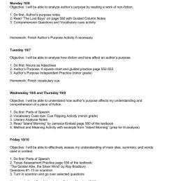 Week 7 Lesson Plans Prep [ 1024 x 791 Pixel ]
