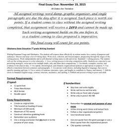 Informative Essay [ 1024 x 791 Pixel ]