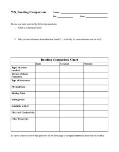 also ws bonding comparison rh studylib