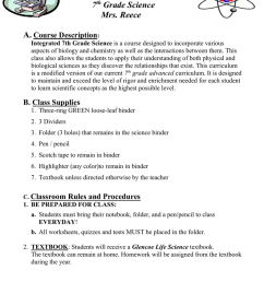 Integrated Advanced 7th grade Science Course Criteria [ 1024 x 791 Pixel ]