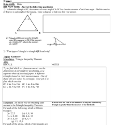 Math 8 Lesson Plan 69D Triangle Inequality Theorem class outline.doc [ 1024 x 791 Pixel ]