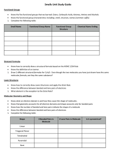 6 5 Practice Worksheet A Molecular Geometry Amp Polarity