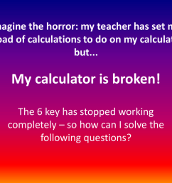 Broken Calculator Worksheet   Printable Worksheets and Activities for  Teachers [ 768 x 1024 Pixel ]