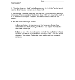 homework 1 1 fill out the document titled intake questionnaire 04 01 12 doc on the facweb website email me your answers as an attachment 2  [ 791 x 1024 Pixel ]