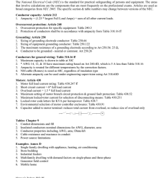 nec pe calculations the national electrical code nec is the standard for practical safeguarding of persons and equipment  [ 791 x 1024 Pixel ]