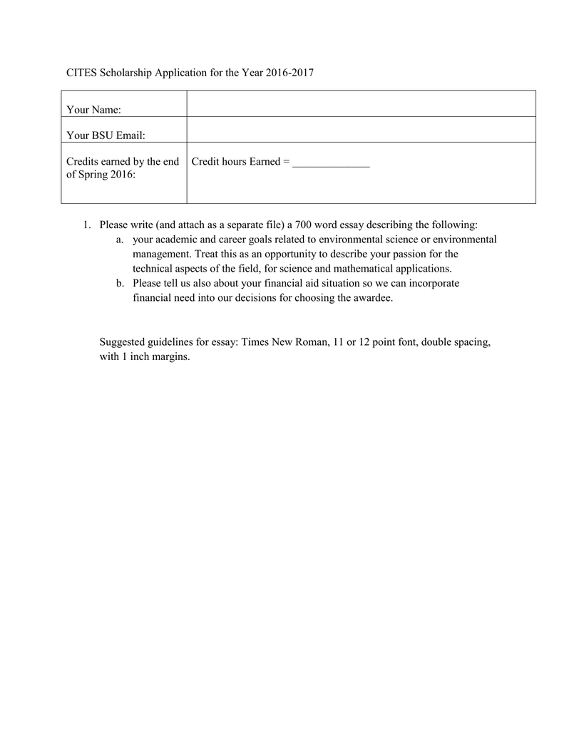 Financial Need Essay Attendance Officer Cover Letter Credit Union