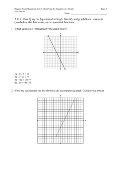 Regents Exam Questions A.G.8: Solving Quadratics by