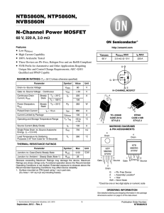 MOSFET Physics: The Long Channel Approximation