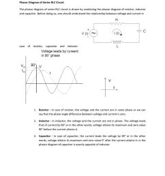 purely capacitive circuit phasor diagram [ 791 x 1024 Pixel ]