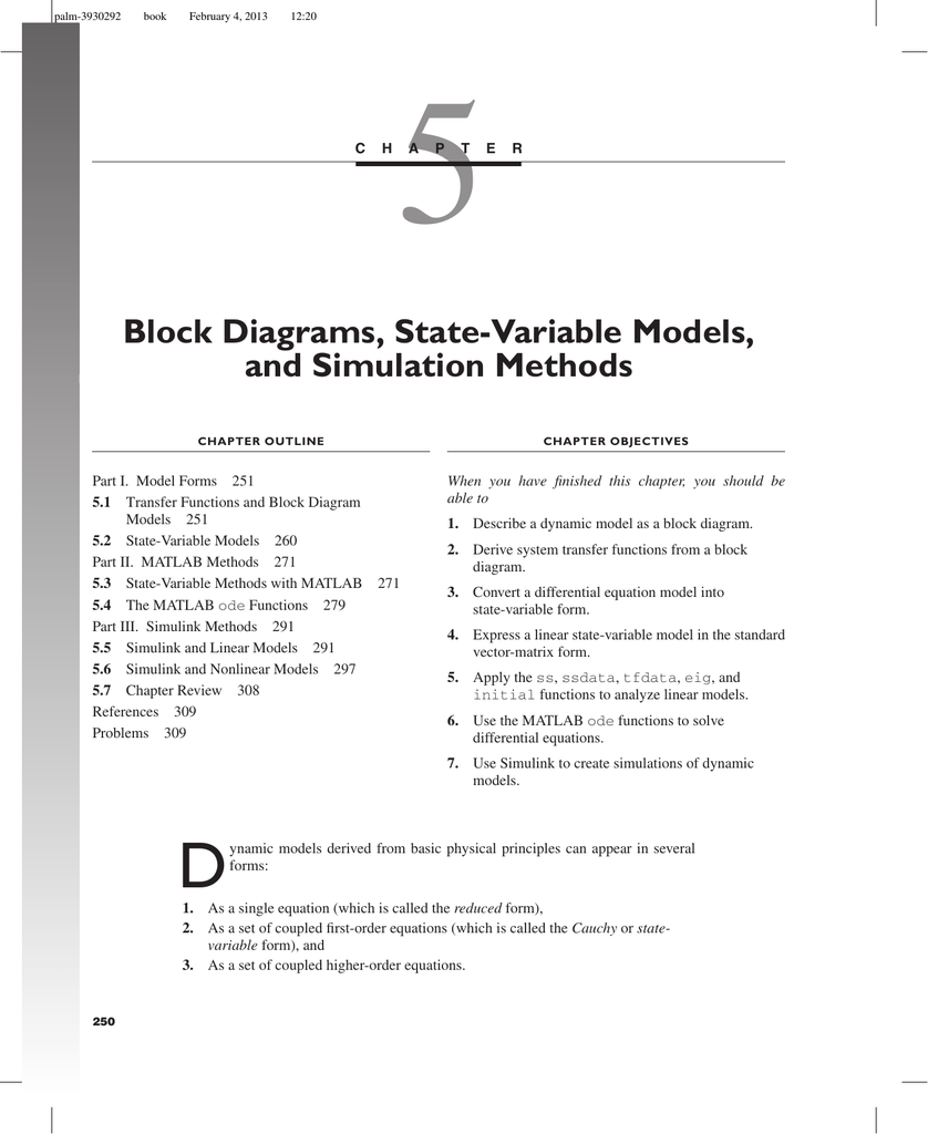 hight resolution of block diagram differential equation