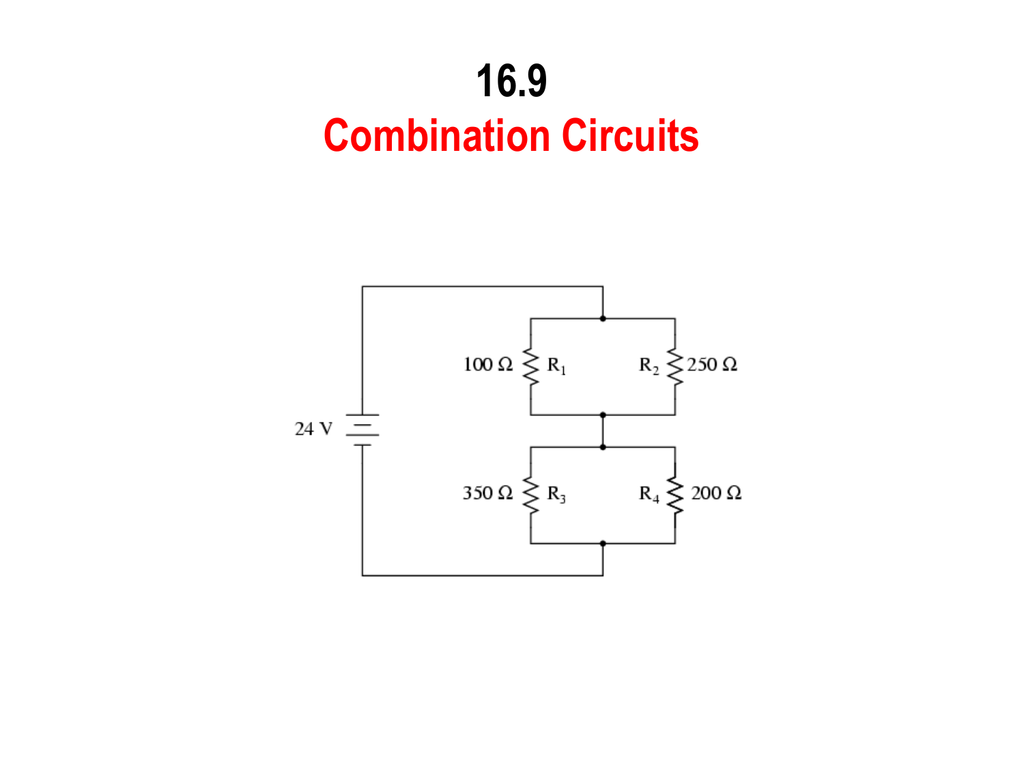 hight resolution of combination circuit diagram