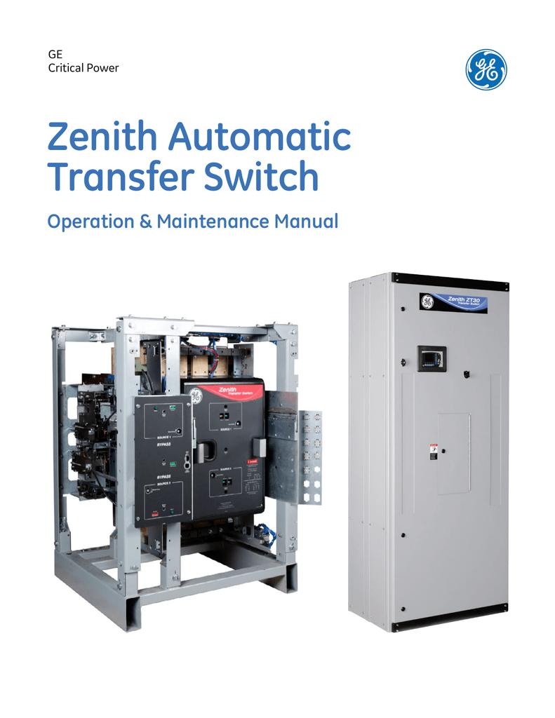 medium resolution of zenith transfer switch wiring diagram