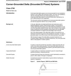 corner grounded deltum transformer wiring diagram of a [ 791 x 1024 Pixel ]