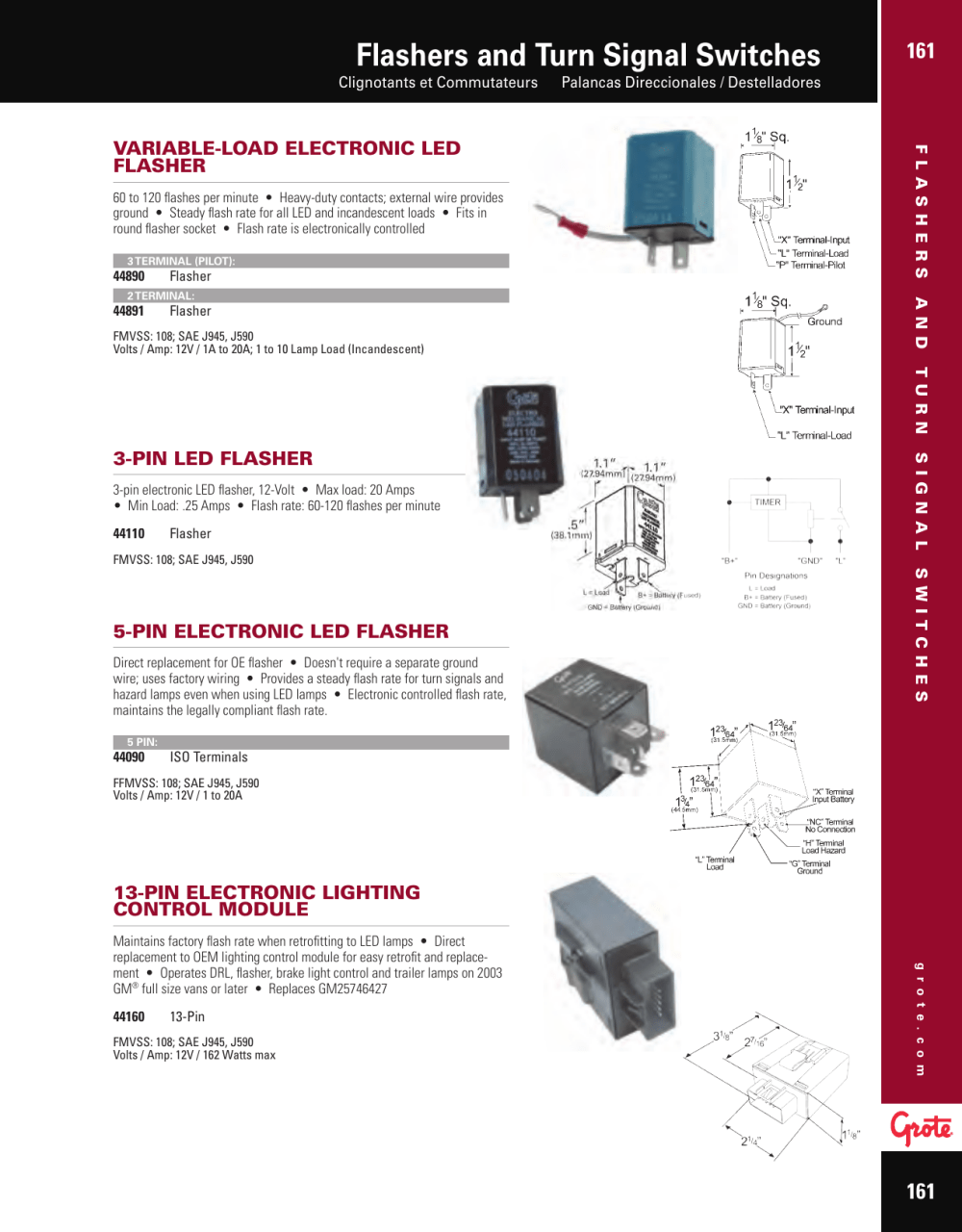 medium resolution of  grote turn signal switch wiring diagram 48272 somurich com on basic turn signal wiring