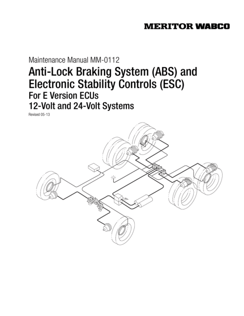 small resolution of mm 0112 meritor wabco wiring diagram as well meritor wabco abs valves on wabco abs trailer