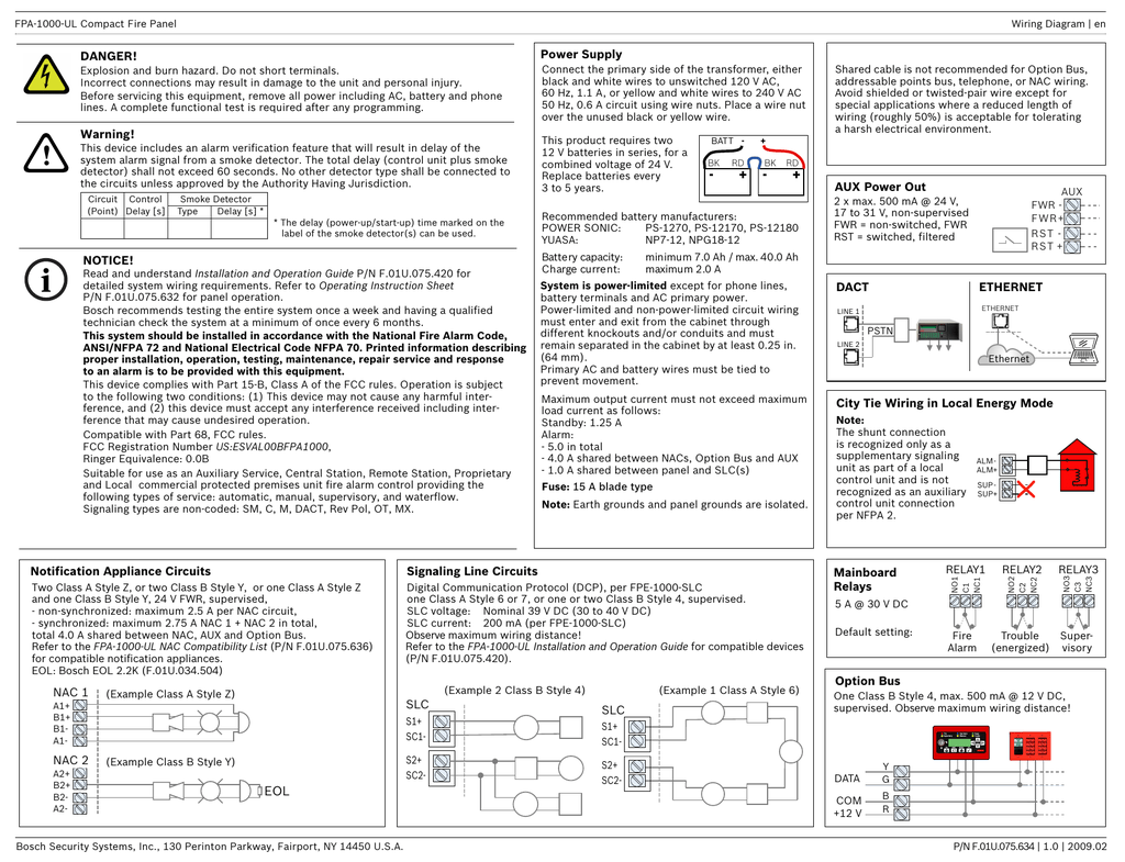 hight resolution of power supply notification appliance