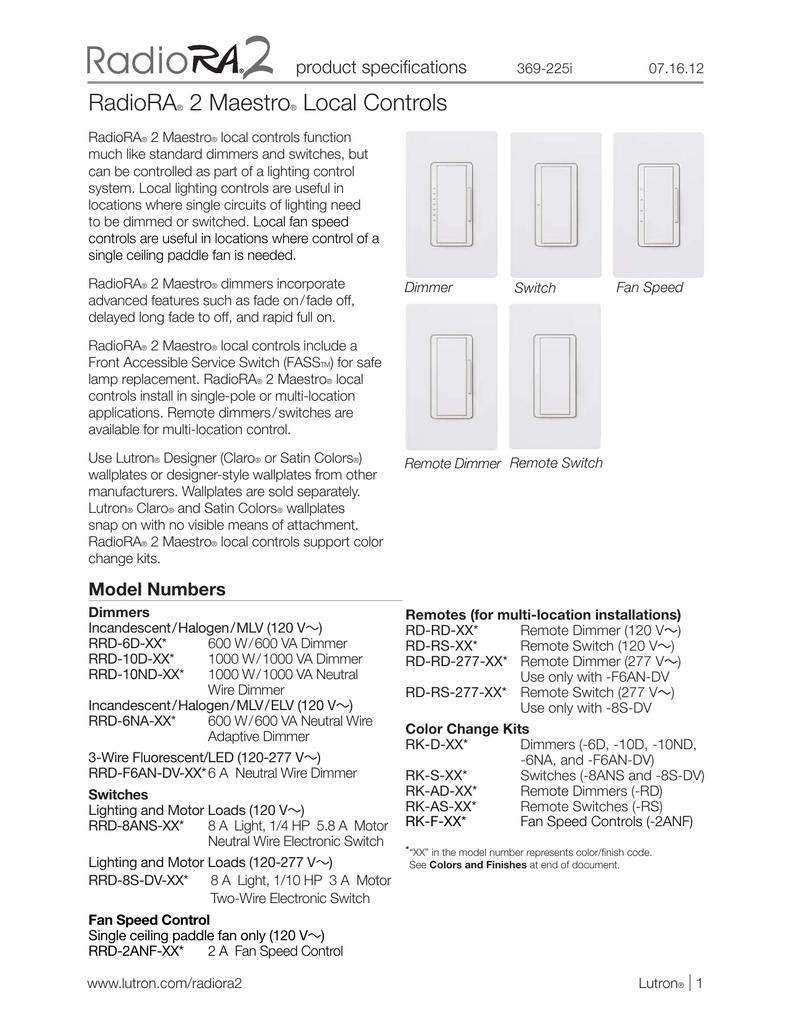 medium resolution of lutron fan speed control wiring diagram