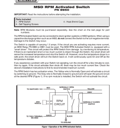 msd window switch wiring diagram [ 791 x 1024 Pixel ]