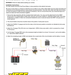 jegs 10564 installation instructions wiring diagram 12 volt  [ 791 x 1024 Pixel ]