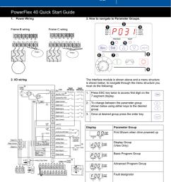 powerflex 40 quick start guidepowerflex 40 quick start guide 1 power wiring frame b wiring 2 [ 791 x 1024 Pixel ]