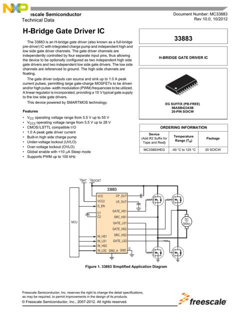 small resolution of h bridge ic pin diagram