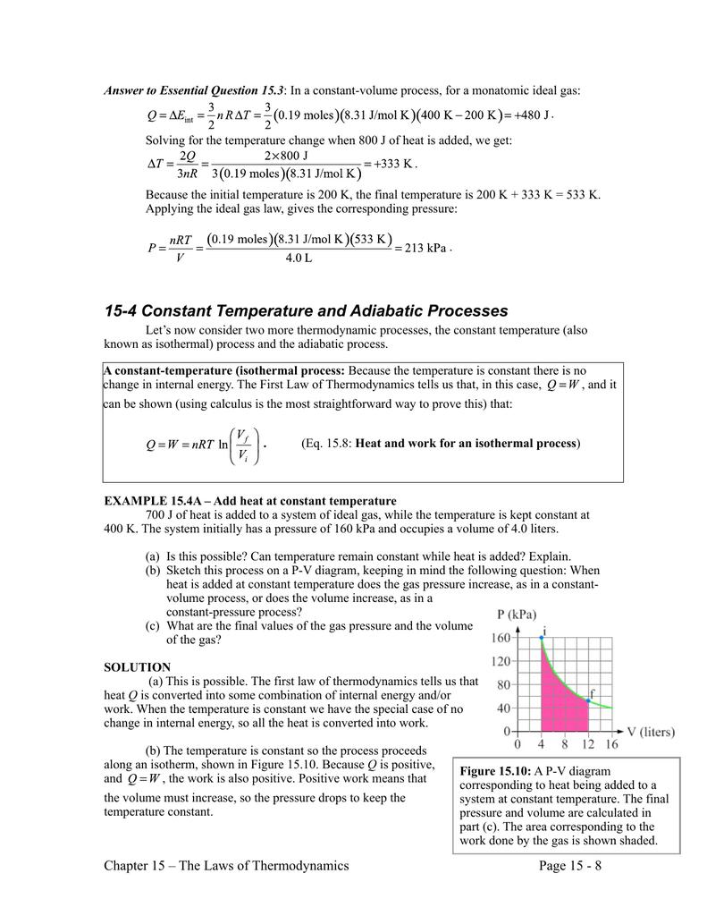 hight resolution of adiabatic pv diagram