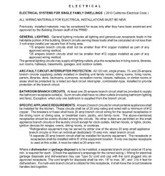 section 17 e l e c t r i c a l electrical systems for single family dwellings 2010 california electrical code all wiring materials for electrical  [ 791 x 1024 Pixel ]