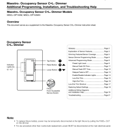 lutron maestro mscl op153m la troubleshootinggaps in the wiring diagrams page 3 20 [ 791 x 1024 Pixel ]